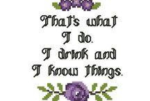 cross stitch/embroidery