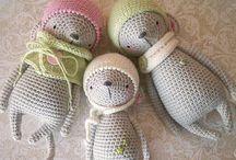 Вязание, игрушки