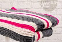 Interieur haken / Interieur items haken zoals kussens, plaids en schaaltjes
