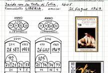 Caravaggio (1571-1610) / Francobolli. Giocare con Caravaggio, Cristo e le Poste internazionali