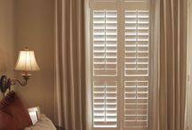 Master bedroom window treatment