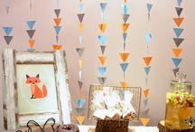 Woodland Baby Shower Decorations
