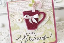 created cards...christmas / by Rhonda Potts