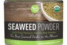 Seaweed Powder Benefits / Seaweed is packed with vitamins, minerals, trace elements, and amino acids that are essential in maintaining healthy and youthful skin and body care.