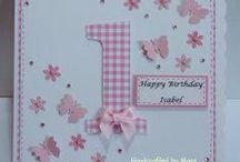First Birthday Cards