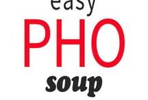Pho soup easy way