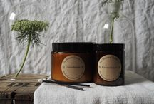 Amber Glass Jar Soy Wax Candles Apothecary Style / Our range of simple yet beautiful amber glass jar soy wax candles. Hand poured in Dorset, England. Available to purchase online now www.thebotanicalcandleco.co.uk