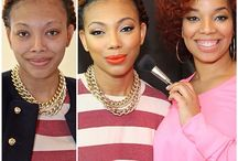 Before and Afters by Makeup Artist MiMi J. / Makeover transformations by makeup artist MiMi J. Before and afters.