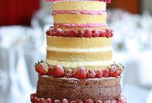 Hochzeitstorten / Hochzeit, Wedding, weddingcake, naked cake, elegante Torten, festlich, heiraten