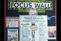Focus walls and Anchor Charts / This board is all about focus walls and anchor charts for the elementary classroom. Stick around and you'll find ideas for the Kindergarten, 1st, 2nd, 3rd, 4th, 5th, and 6th grade classroom and homeschool!