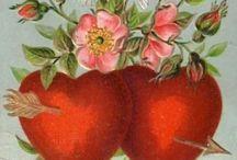 Valentine / Valentine vintage card / by Edwige Gendron