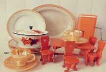 MUNDO NARANJA / naranja, objetos vintage, antiguedades, color