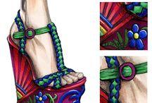 Disegni scarpe