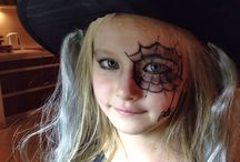 Halloween makeup / dziecięcy makijaż na halloween