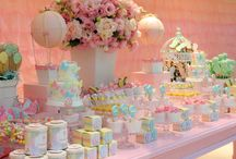 mesas de festa