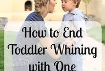 Toddlers / advice / tips