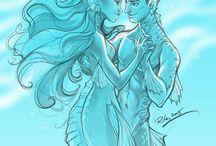 Mermaid couples
