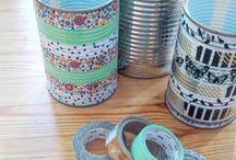 Washi tapes DIY's