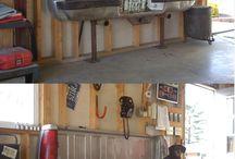 HOME- Man gave & garage