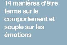 Comprendre les émotions, gérer le comportement