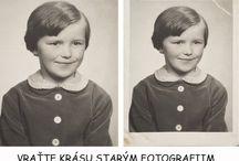 Nová a stará fotka / úprava fotografií - kterou umíme udělat