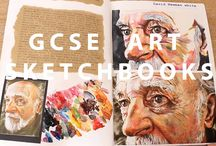 GCSE ART / ideas for my GCSEs.  Sketchbook will be from- the pink pig.