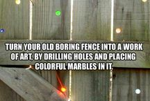 Fence ideas / by Kathleen King-Reeves