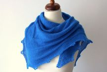 winter triangle scarves