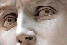 Michelangelo / statues de Michelangelo