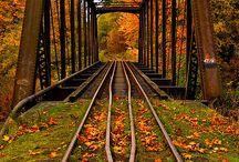 Pontes, caminhos e escadas ...