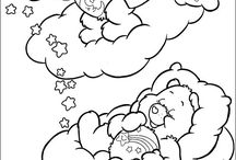 Coloring Care Bears