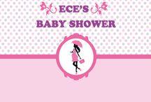 Baby shower backdrop / Digital file