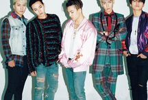 BIGBANG / a kpop group of 5 members under YG Entertainment T.O.P, Taeyang, G-Dragon, Daesung, Seungri bias: T.O.P