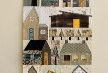 Quilts - houses, etc.