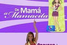 #DeMamáAMamacita / Amigas, No se Pierdan el segmento de NUESTRO RETO: #DeMamáAMamacita: http://www.youtube.com/playlist?list=PLvnKNkmMhKyaggXvODeRClaYIZU9gnbgh