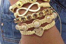 pulseira de croche