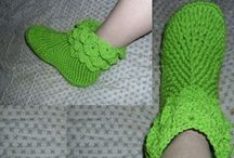Crochet free pattern booties adults