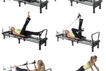 Pilates reformer exercise ideas