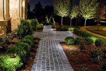 Landscape Lighting Hanover, PA / Collection of various landscape & hardscape lighting installs.