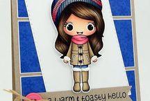 Annie ~ Warm and Toasty Hello