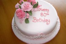 80th Birthday cake and party ideas