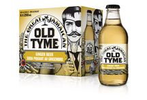 Old Tyme / Old Tyme. Designed by Pigeon Brand Design.