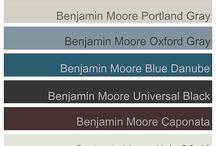 Colour palettes 2015
