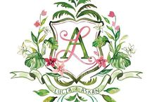 Wedding Crest Design / Wedding Crests are the perfect personalized design element for DIY Brides