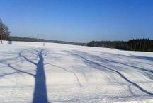 Krása zimní české krajiny