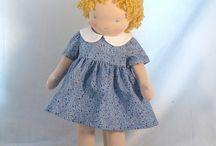 Waldorf & other lovelies / Dolls, softie toys, tutorials & supplies / by Jessica Blackwell