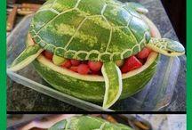 decorazioni frutta