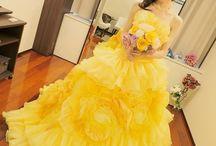 イエロードレス* Yellow Dress