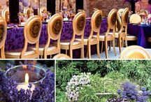 Wedding colors purple