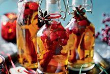 Festive gin